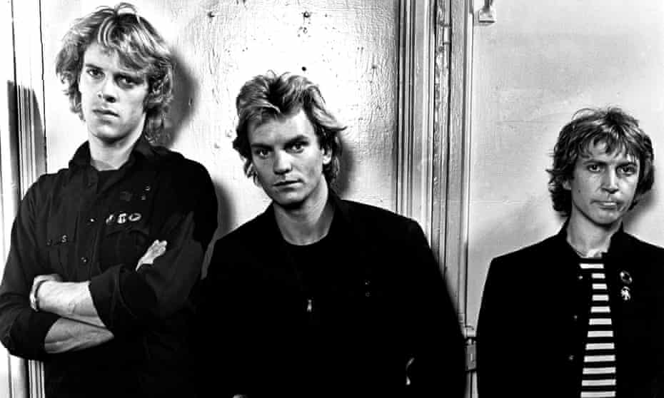 Psy-ops? … Stewart Copeland, Sting and Andy Summers of the Police.