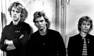The Police in Amsterdam, in June 1979, from left, Stewart Copeland, Sting, Andy Summers