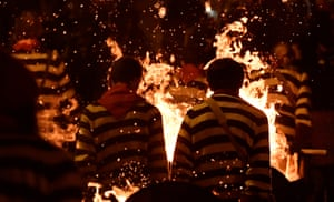Bonfire Night festivities in Lewes