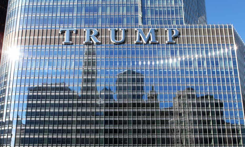 Scaled down after 9/11 … Trump International hotel and tower, Chicago.