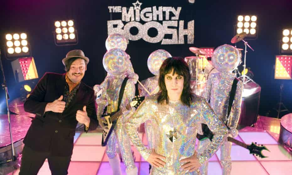 The Mighty Boosh, starring Julian Barratt and Noel Fielding, was one of the comedy shows which began life on BBC3.