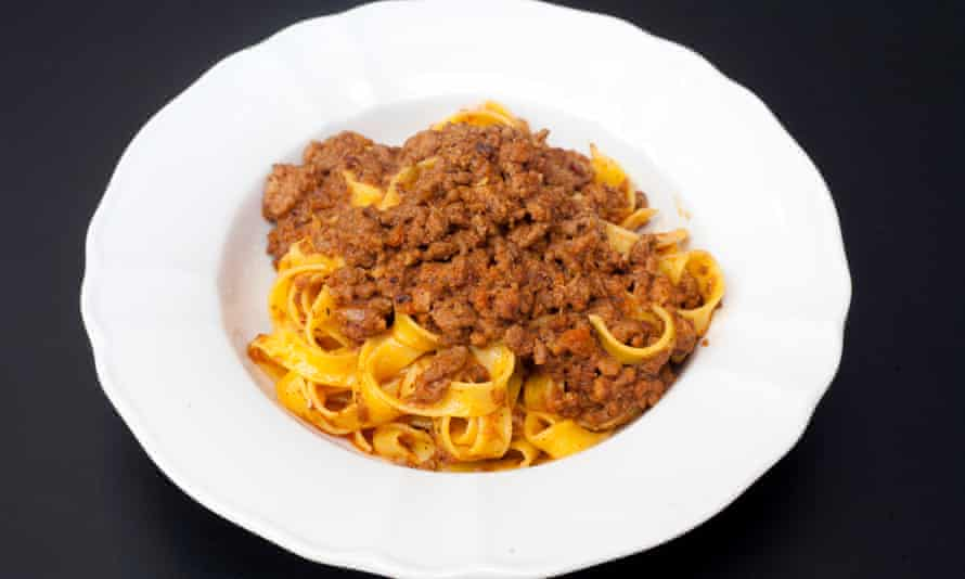 'It is everything the dish should be': tagliatelle with ragu.