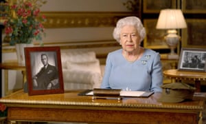 Queen Elizabeth II address to the nation on Victory in Europe Day.
