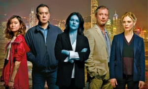 Cold comfort... (from left): Katie Leung; Anthony Wong, Dervla Kirwan, John Simm and Emilia Fox.