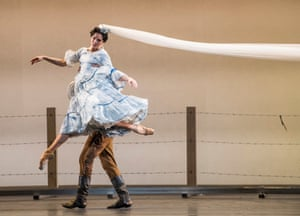 'Mesmerising': Natalia Osipova with Thiago Soares in Arthur Pita's The Wind.