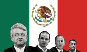 Mexican presidential candidate Andres Manuel Lopez Obrador is expected to be the winner.