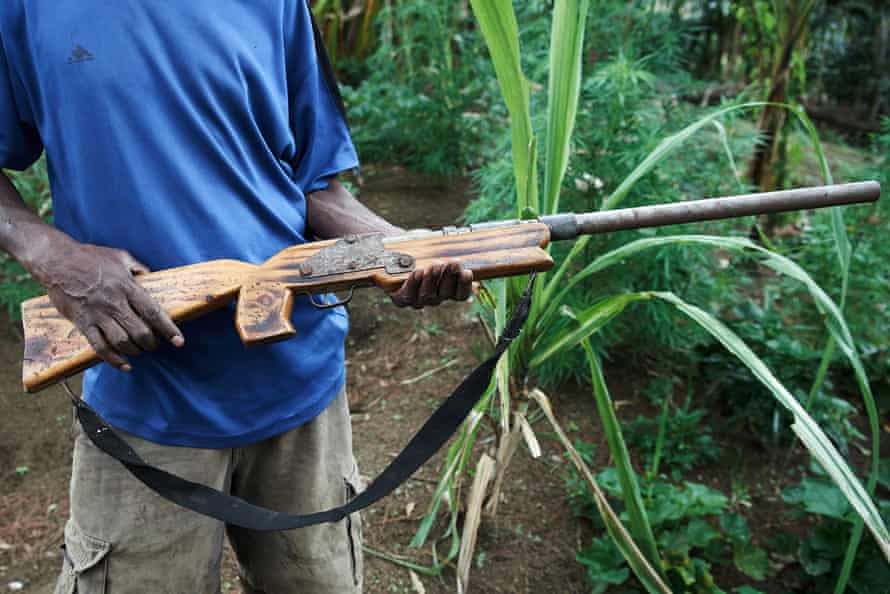 In Papua New Guinea, tribal violence has been exacerbated by widespread access to firearms.