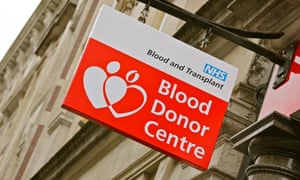 The number of new blood donors has dropped by 40% in the UK.