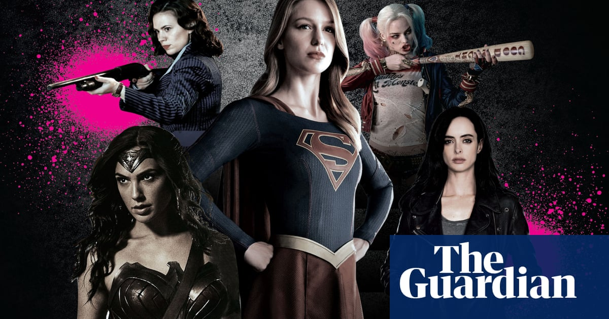 Fight the power: how the female superhero is finally taking flight
