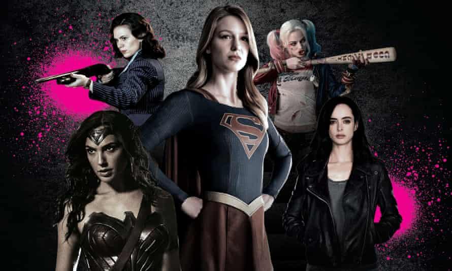 Superhero women