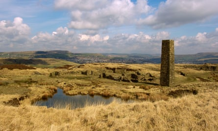 Glimpses of the way things are … the old quarry works, Haslingden, Lancashire.