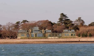 The original design for Jim Ratcliffe's beachfront house in Beaulieu.