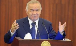 Islam Karimov in 2014.
