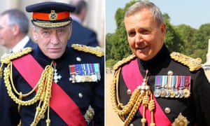 General Sir Mike Jackson and General Sir Nicholas Houghton.