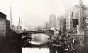 River Irwell in Manchester, 1859