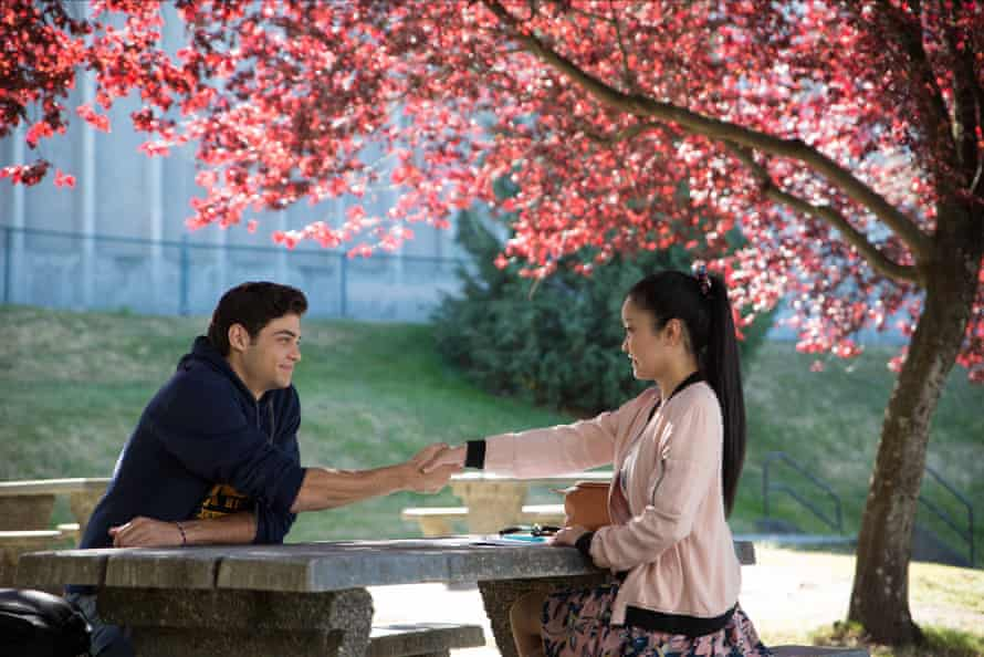 Noah Centineo and Lana Condor in to All the Boys I've Loved.