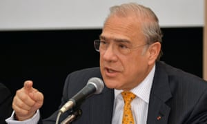 OECD secretary-general Angel Gurria, who fears the global economy remains in the repair shop.