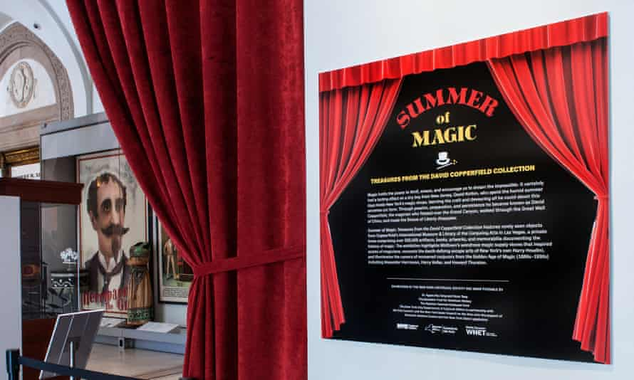 Summer of Magic: Treasures from the David Copperfield Collection is on display at the New-York Historical Society.