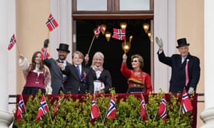 Norway's royal family on Norwegian Constitution Day