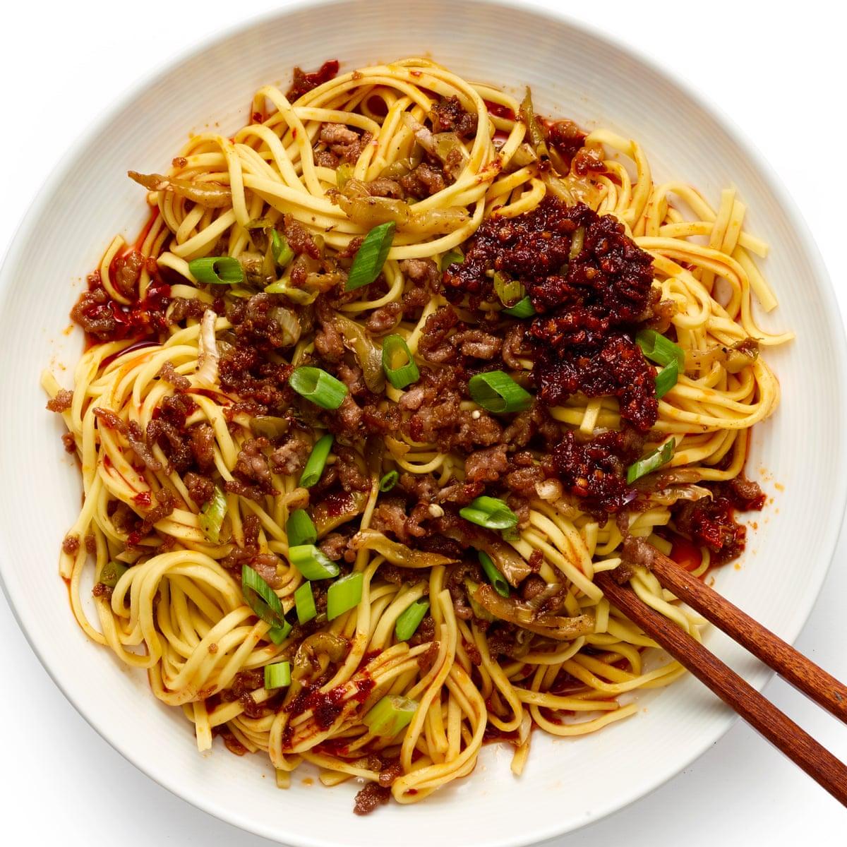 How To Make The Perfect Dan Dan Noodles Felicity Cloake Food The Guardian