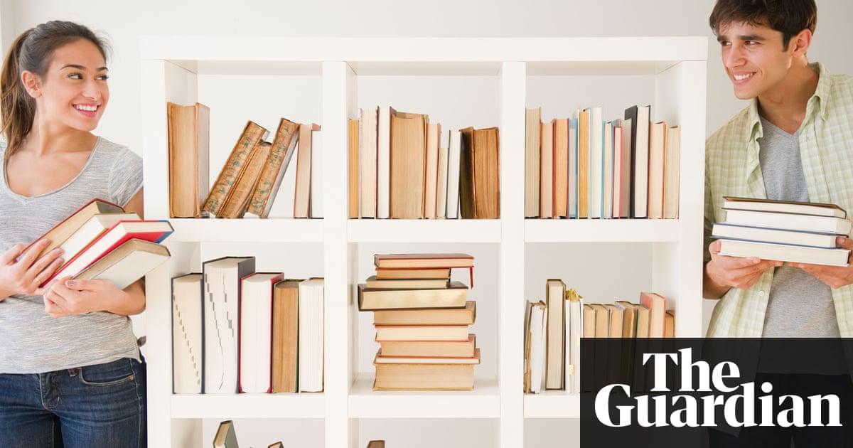 Shelf effacement: how not to organise your bookshelves