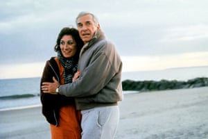 In Crimes And Misdemeanors with Anjelica Huston