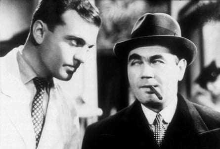 A scene from Hitchcock's Sabotage (1936)