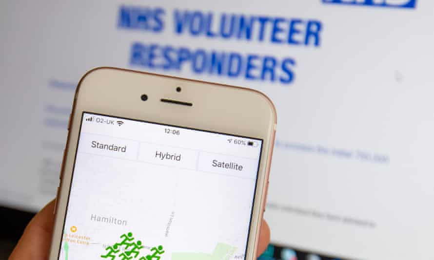 NHS Volunteer app