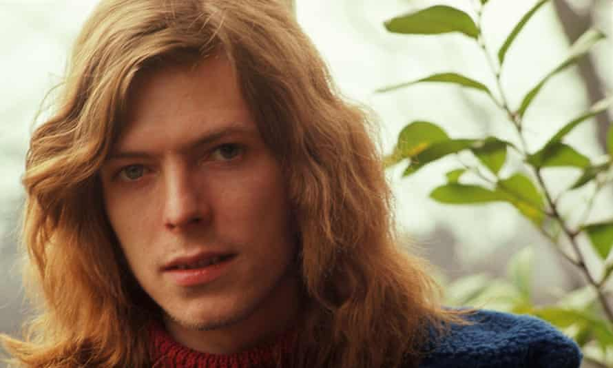 A young David Bowie in the BBC documentary Finding Fame.
