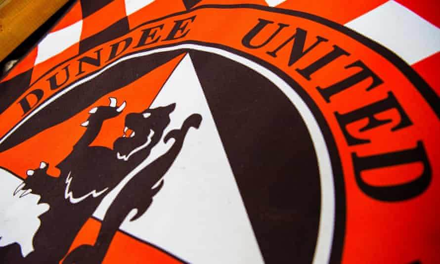A general view of the Dundee United badge