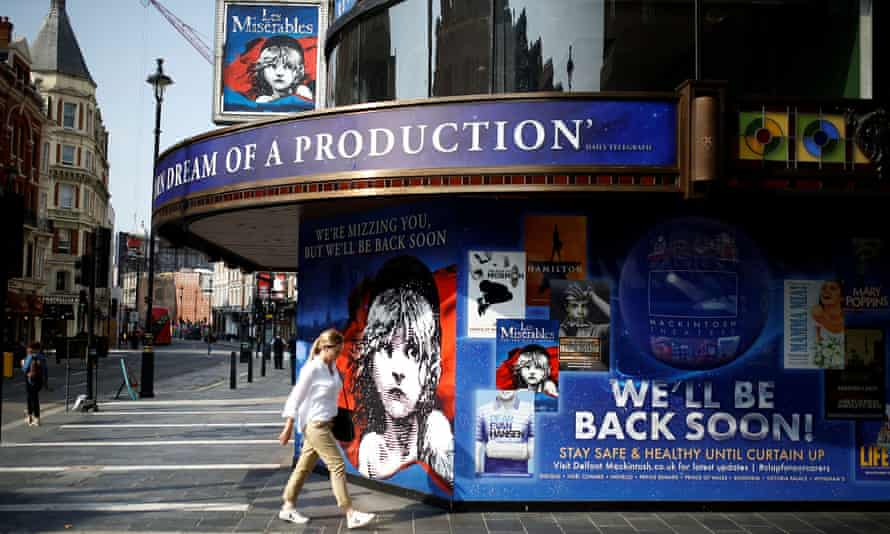 Promising to be back soon … but producers of the big shows have made it clear they won't re-open until social distancing disappears.