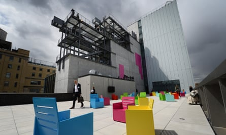 the Whitney Museum's new digs in New York City