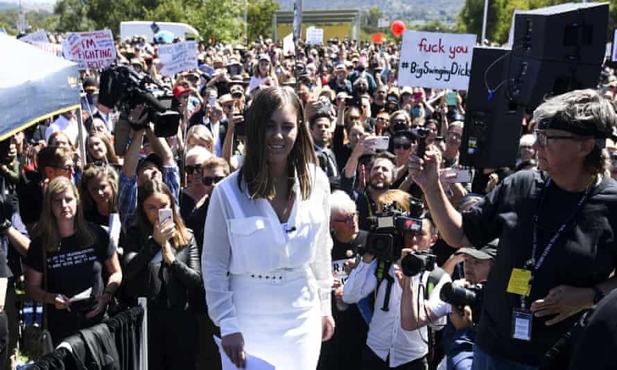 Former Liberal staffer Brittany Higgins.