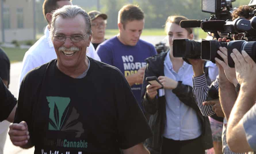 Jeff Mizanskey's release followed years of lobbying by relatives, lawmakers and others who argued that the sentence was too stiff and that marijuana should not be forbidden