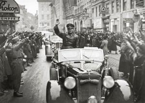 Hans Frank in Graz, Austria, in 1938