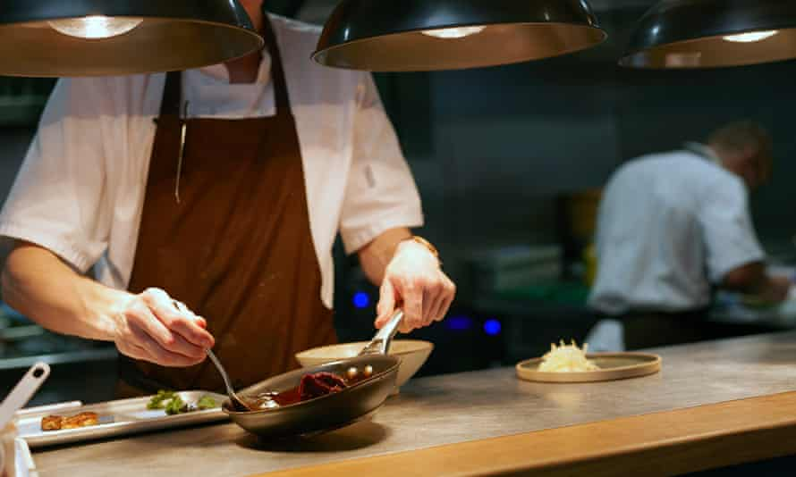 The chef serves up seasonal food at Roots in York