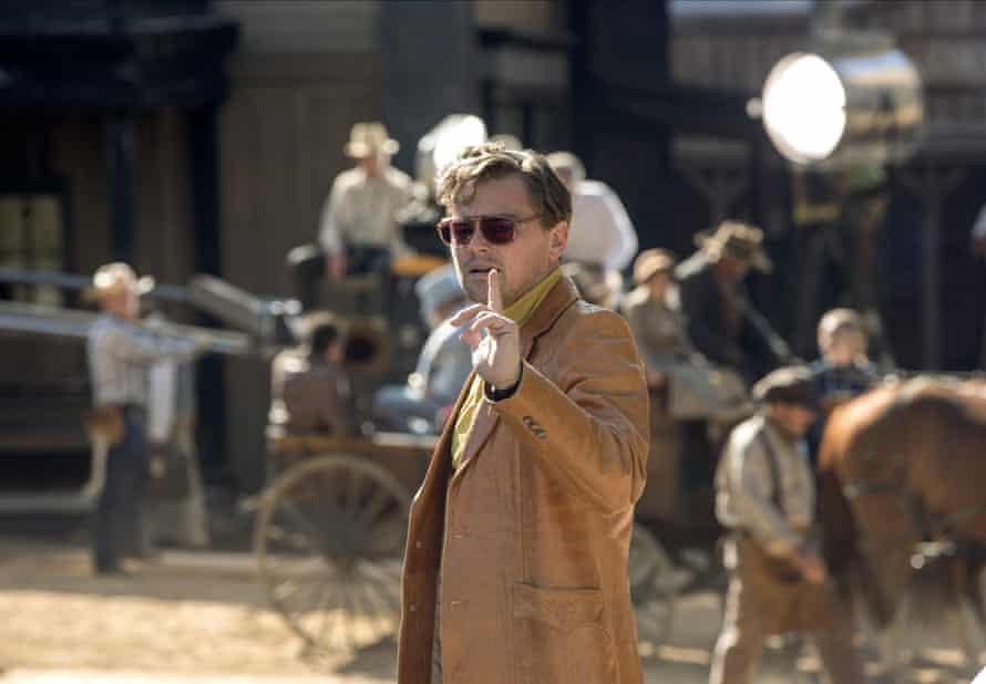 Leonardo DiCaprio on set … Tarantino's locations tell their own story.