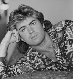 George Michael in a Sydney hotel room in January 1985 during Wham!'s world tour.