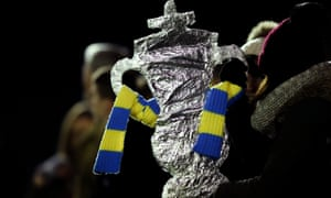 A tinfoil FA Cup