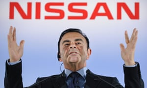 Nissan's Carlos Ghosn is now under arrest.