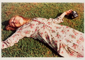 William Eggleston's Untitled, 1975 (Marcia Hare in Memphis, Tennessee).