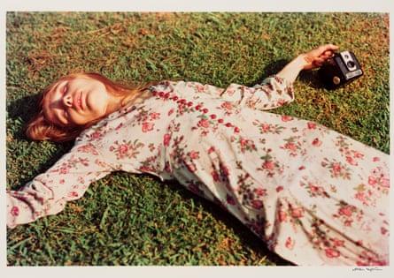 William Eggleston's Untitled, 1975 (Marcia Hare in Memphis, Tennessee).