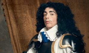 Bridget Christie dressed as Charles II
