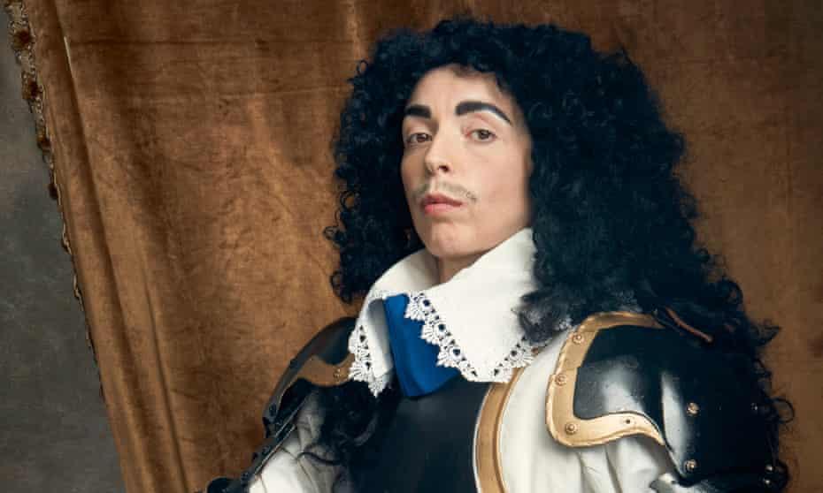 Bridget Christie dressed as Charles II