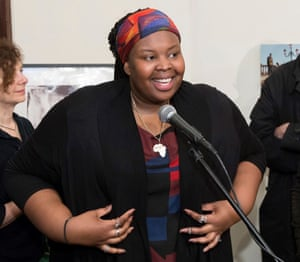 Artist Khadija Saye, who is missing along with her mother, Mary Mendy.