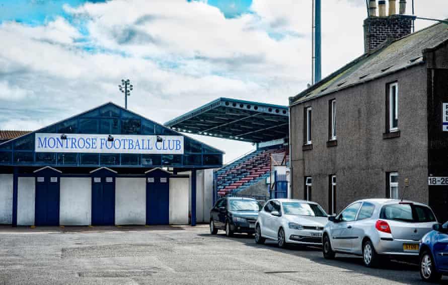 Montrose FC's ground, Links Park.
