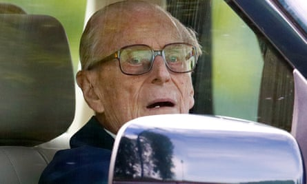 Prince Philip in May last year.