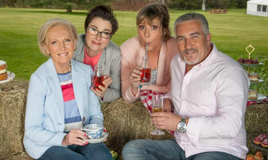The Great British Bake Off is headed for Channel 4, though without Sue Perkins and Mel Giedroyc (centre).