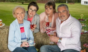 Bake Off: Mary Berry, Mel Giedroyc and Sue Perkins are staying at the BBC, but Paul Hollywood is moving to Channel 4.
