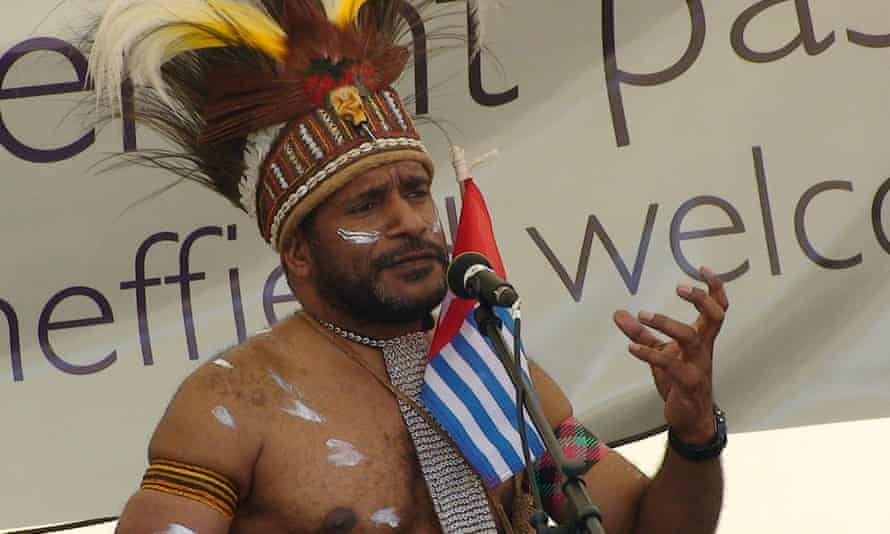 Benny Wenda has been nominated interim president of West Papua amid what the UN has called 'disturbing' violence in the region.